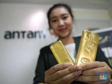 Nyungsep! Harga Emas Antam Hari Ini Turun Rp 10.000/gram