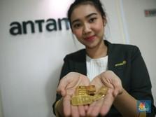 Rekor! Corona Makin Ganas, Emas Antam Menuju Rp 760.000/gram
