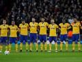 FOTO: 'Tembok' Juventus Kalahkan Tottenham