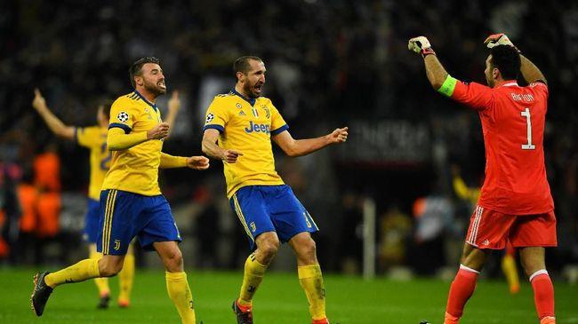 Buffon Pergi, Chiellini Jadi Kapten Juventus