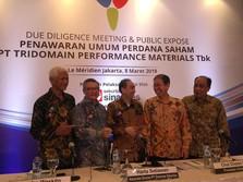 Tridomain Materials Terbitkan MTN Rp 410 M, Kuponnya 10,5%
