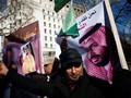 Lawatan Perdana Putra Mahkota Saudi Disambut Demo di Inggris