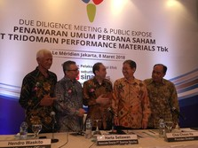 Tridomain Performance Materials Bidik Dana IPO Rp 1,59 T