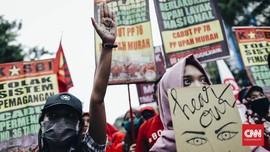 FOTO: Ragam Suara di Hari Perempuan Internasional