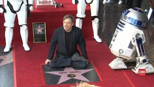 VIDEO: Bintang Hollywood untuk Mark Hamill