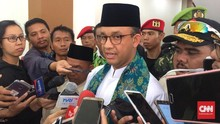 Anies Curiga Gulungan Kabel di Got Balai Kota Hasil Curian