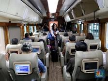 Melihat Kenyamanan Kereta Jakarta - Bandung Fasilitas Mewah