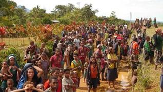 Dijaga Brimob, Warga di Papua Takut Merebut Kembali Tanahnya
