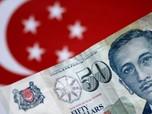 Lawan Dolar Singapura, Rupiah Mampu Menguat Tipis