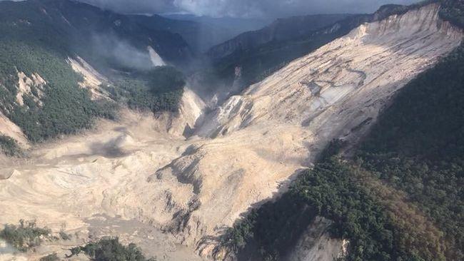 Papua Nugini Terjunkan Tim Penyelamat ke Lokasi Gempa