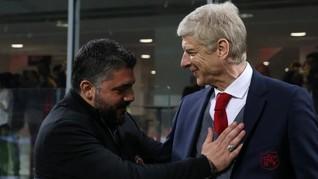 Gattuso Optimistis Milan Cetak Sejarah di Emirates