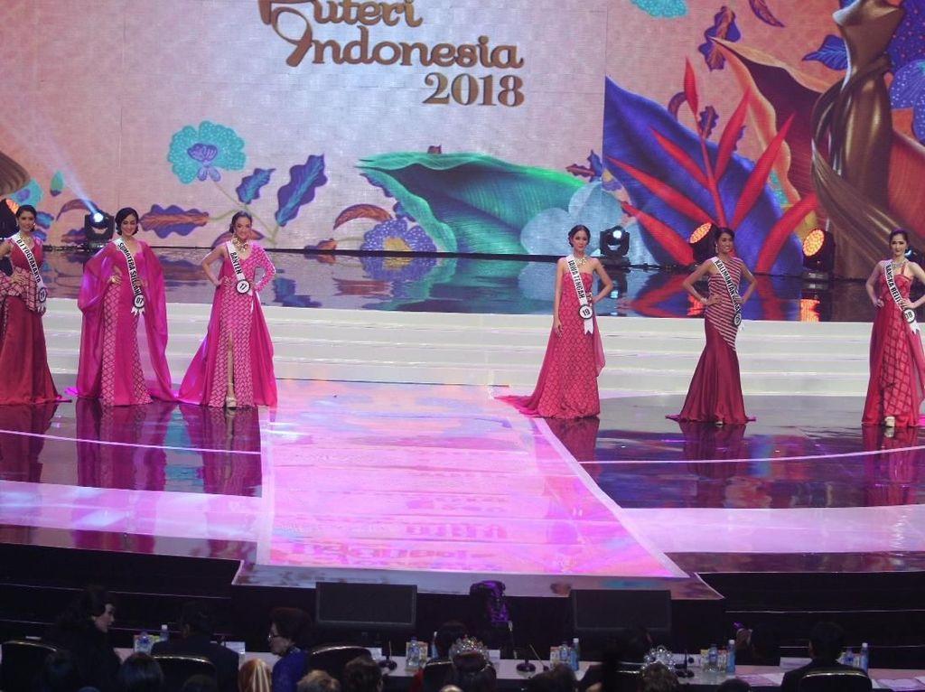 Pesona Finalis Banten hingga Jateng yang Jadi 6 Besar Puteri Indonesia 2018