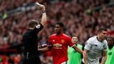 Manajer Manchester United Jose Mourinho memainkan Marcus Rashford untuk kali pertama menjadi starter sejak Boxing Day Desember 2017. Rashford dimainkan Mourinho setelah Paul Pogba cedera. (Reuters/Jason Cairnduff)