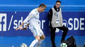 Real Madrid Kalahkan Eibar 2-1 Berkat Ronaldo