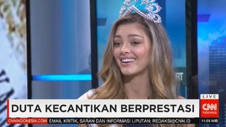VIDEO: Miss Universe 2017 Pilih Aktivis Ketimbang Model