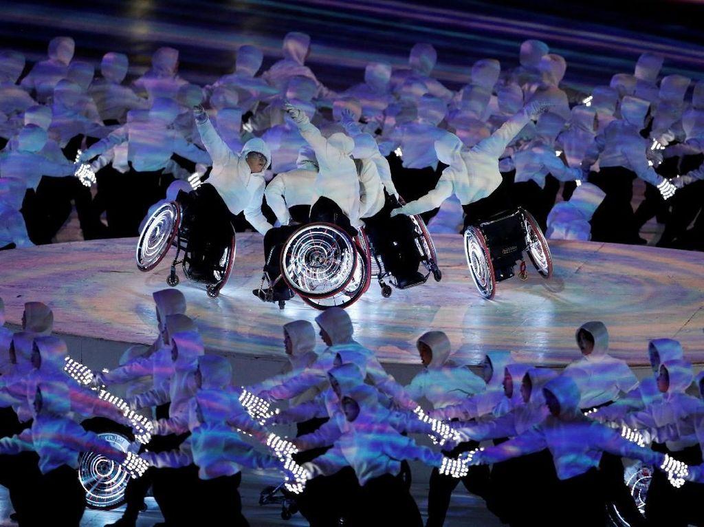Paralympic adalah ajang olahraga level dunia untuk para penyandang disabilitas. Ajang ini kelanjutan Olimpiade Musim Dingin PyeongChang 2018 yang ditutup pada 25 Februari lalu. REUTERS/Paul Hanna.