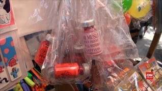 VIDEO: Bahaya, Limbah Medis Dijadikan Botol Cat Kuku Anak