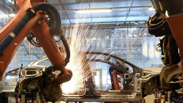 IMF Pangkas Proyeksi Pertumbuhan Jerman Akibat Perang Dagang