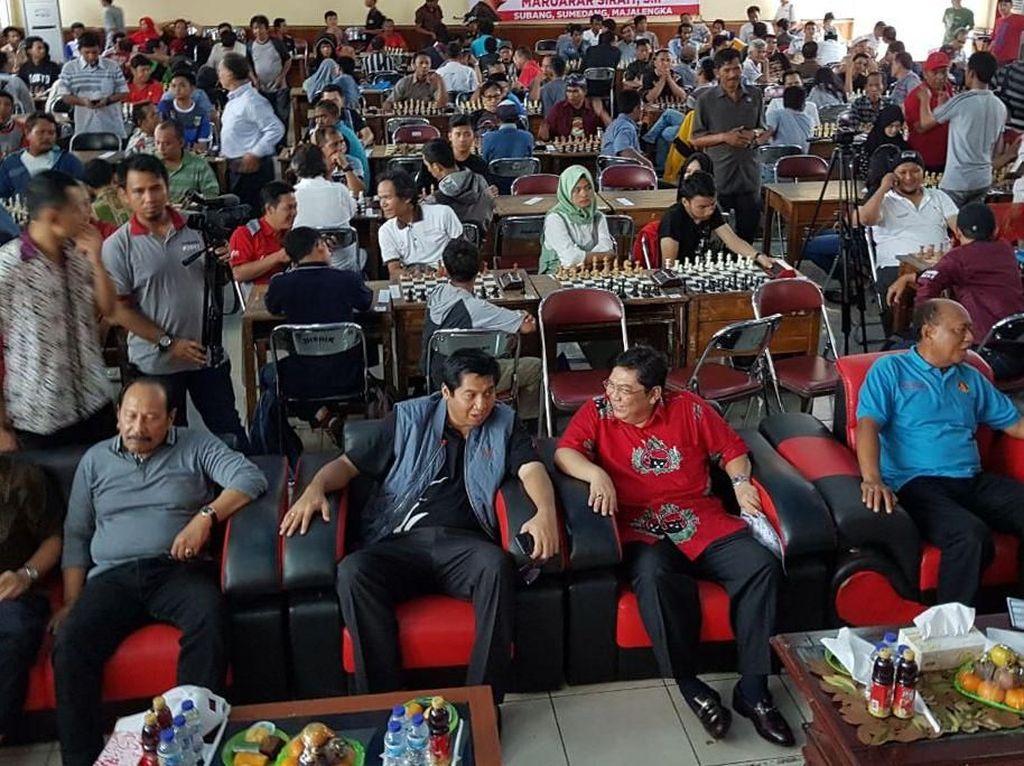 Kegiatan tersebut dalam rangka kunjungan kerja anggota DPR RI Maruarar Sirait di dapil Majalengka, Subang dan Sumedang.Foto: dok. Maruarar Sirait