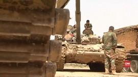 VIDEO: Militer Suriah Memperluas Wilayah di Timur Ghouta