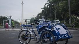 Politik Becak Anies Baswedan di Jakarta