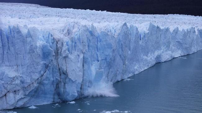 Gletser Perito Moreno masuk dalam daftar Situs Warisan Dunia UNESCO.