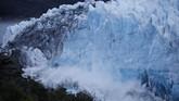Argentina boleh berbangga hati, karena gletser ini menjadi sumber ke-tiga air bersih di dunia.