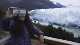 Gletser ini memiliki luas 250 kilometer per segi dan panjang 30 kilometer.