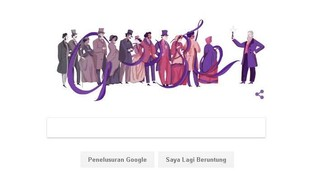 Google Doodle Rayakan Hari Lahir Penemu Pewarna Sintetis