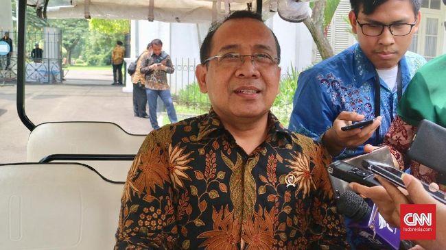 Aksi Menteri Kawal Jokowi ke KPU Diklaim Dukungan Pribadi