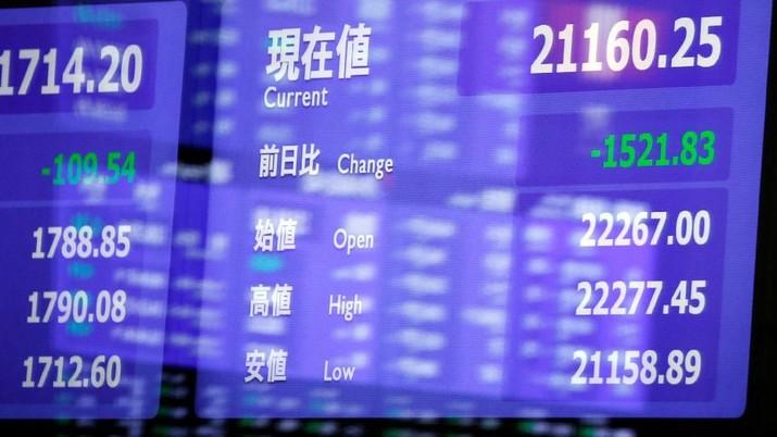 Selasa (20/3/2018), Indeks Nikkei 225 ditutup melemah 0,47% jadi 21.380,7 poin dan Indeks Topix turun 0,21% ke 1.716,29 poin.