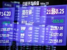 Pasar Saham Tokyo Ditutup Terkoreksi 0,33%