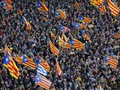 Puluhan Ribu Demonstran Tuntut Pemerintahan Baru Catalonia
