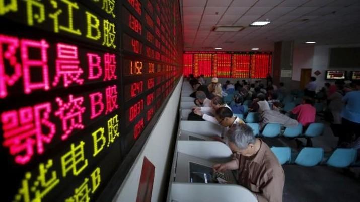 Khawatir Perlambatan Ekonomi China, Bursa Shanghai Melemah