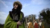 Patrick dan pengikutnya kemudian memperluas agama ke berbagai wilayah dan mendirikan banyak gereja. Ia pun diangkat menjadi uskup pertama Irlandia. (REUTERS/Clodagh Kilcoyne)