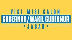 Mengingat Visi dan Misi Cagub Jawa Barat Jelang Debat