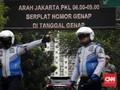 Oknum Polisi Lempar Kode Hormat saat Langgar Ganjil Genap