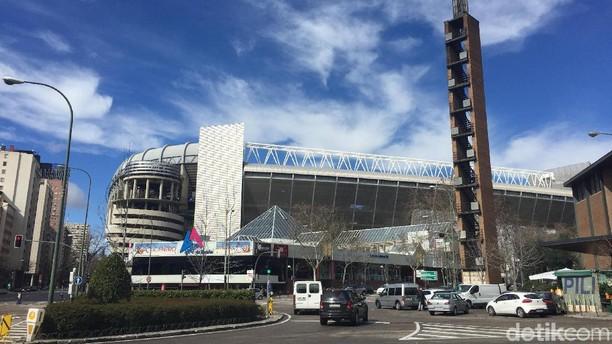 Mengintip Ruang Ganti dan Koleksi Trofi Real Madrid di Santiago Bernabeu