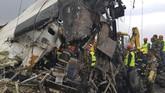 Juru bicara kepolisian menyatakan 31 orang meninggal di lokasi dan sembilan lainnya di rumah sakit. (AFP Photo/PrakashMathema)