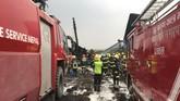 Penyebab kecelakaan masih belum jelas, tapi pernyataan dari pihak bandara menyebut pesawat itu