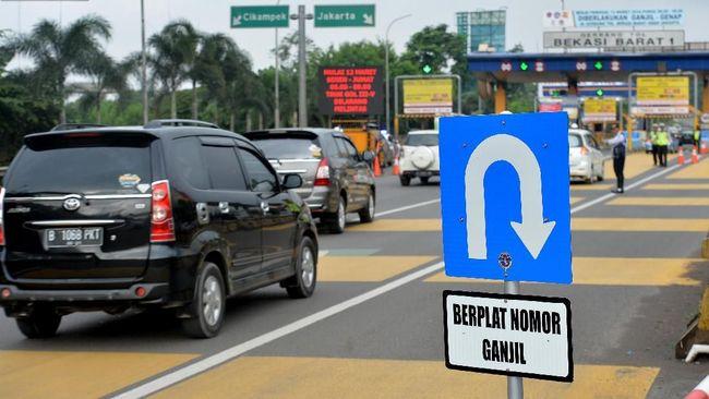 Ganjil Genap Tol Tangerang Tunggu Evaluasi di Tol Bekasi