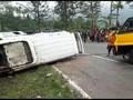 Kecelakaan di Tanjakan Emen Subang, Satu Orang Meninggal