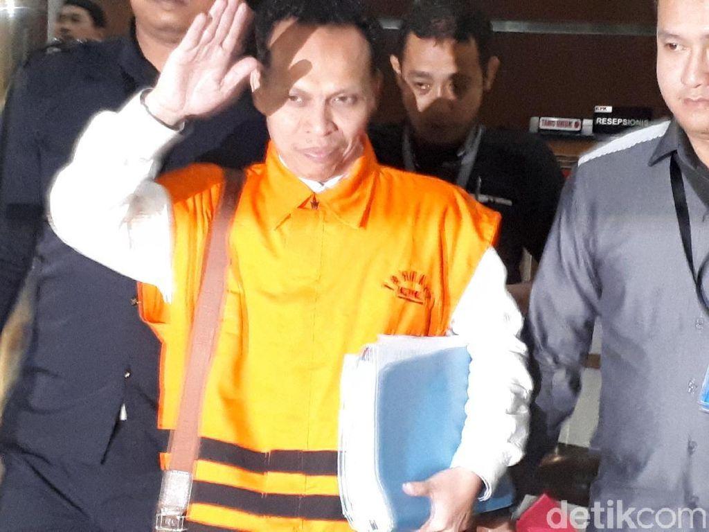 Pengacara, HM Saipudin, penyuap hakim PN Tangerang juga ditahan KPK. Dia diduga mewakili pihak tergugat terkait perkara wanprestasi tersebut.