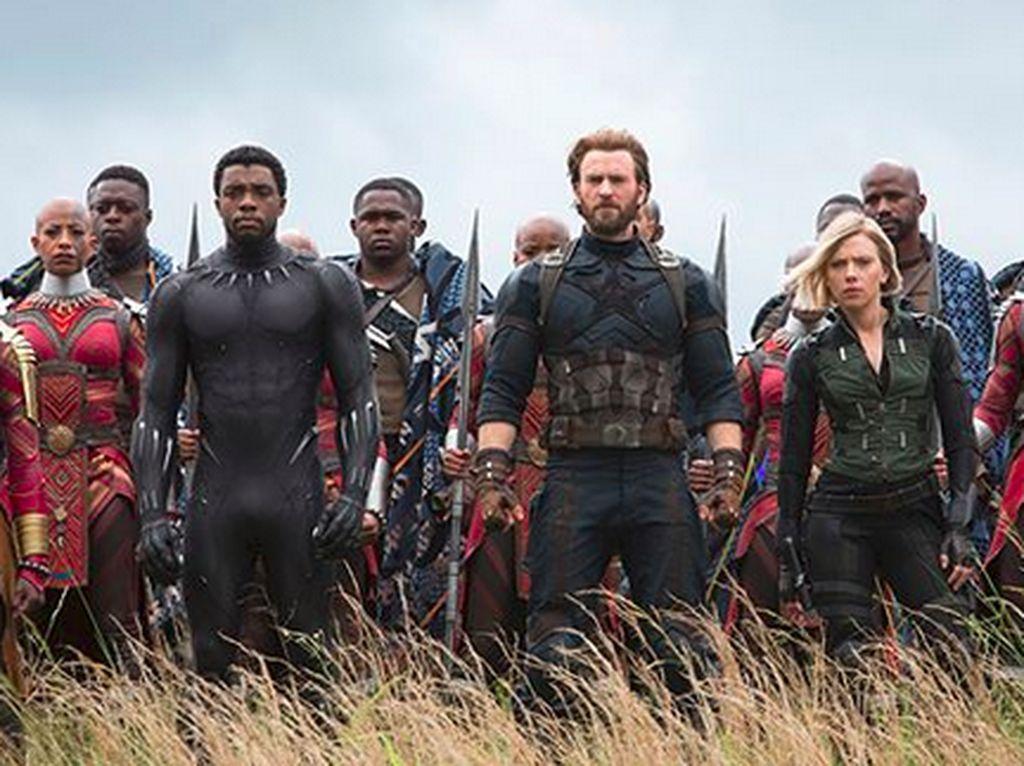 Captain America bakal kembali untuk seri Avengers: Infinity War. Foto: (RussoBrothers IG)