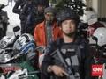 Antisipasi Penyusup, 180 Polisi Kawal Sidang Aman Abdurrahman