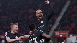 FOTO: Manchester City Kian Dekati Gelar Juara Liga Inggris