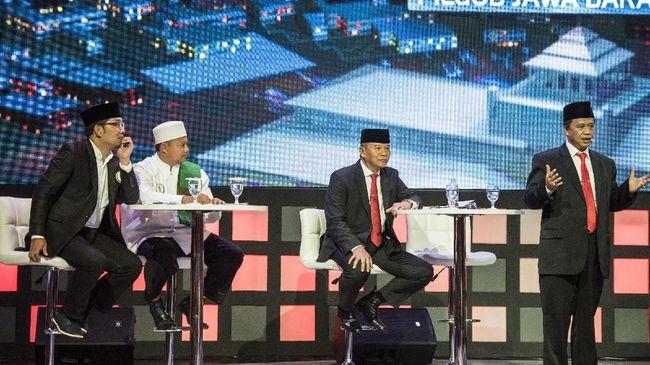 Debat Perdana Pilgub Jabar Disebut Sekadar Ajang Jual Pesona
