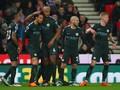 Manchester City Unggul 1-0 Atas Stoke di Babak I