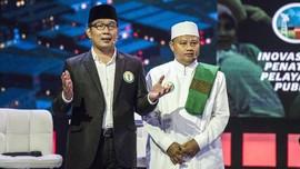 Ridwan Kamil-Uu Ruzhanul Resmi Gubernur/Wagub Jabar Terpilih