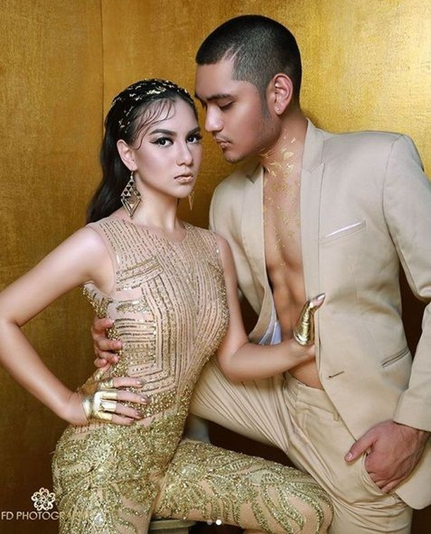 Goldie Couple! Mesranya Irish Bella dan Giorgino Abraham